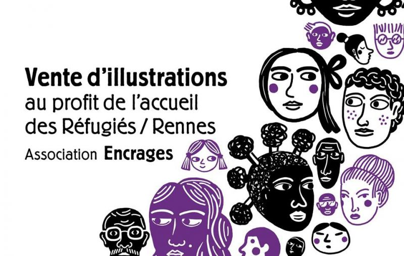 Vente d'illustrations with Rennes Language Center